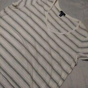 Light, v-neck blouse
